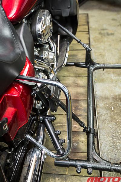Коляска для мотоцикла своими руками