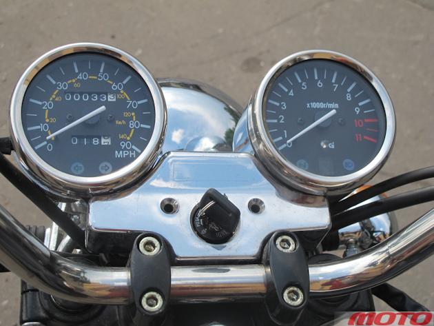 Индикатор включенной передачи на мотоцикле 321
