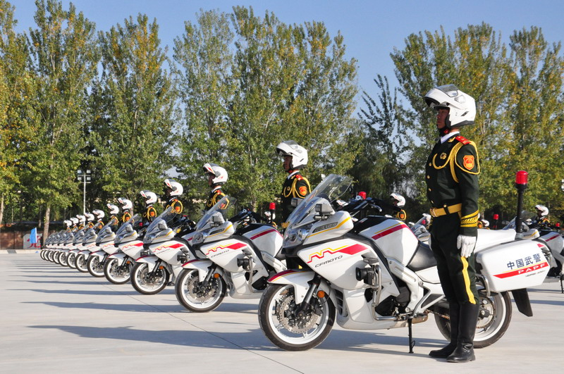 Новости мотоиндустрии: CFMoto 650G на военном параде в Пекине