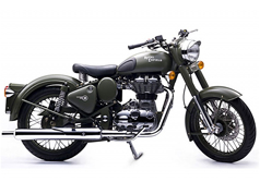 2012 Royal Enfield Classic Battle Green