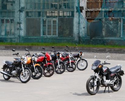 Семечки: Тест 125-кубовых мотоциклов