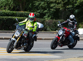 BMW R1200R Vs Ducati Monster 1200