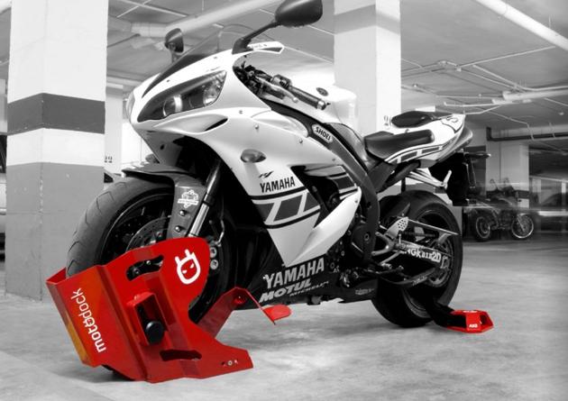 мотоцикл бетона