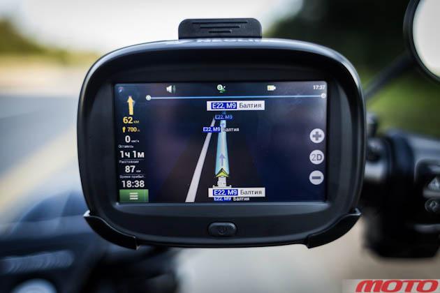 навигатор для мотоцикла